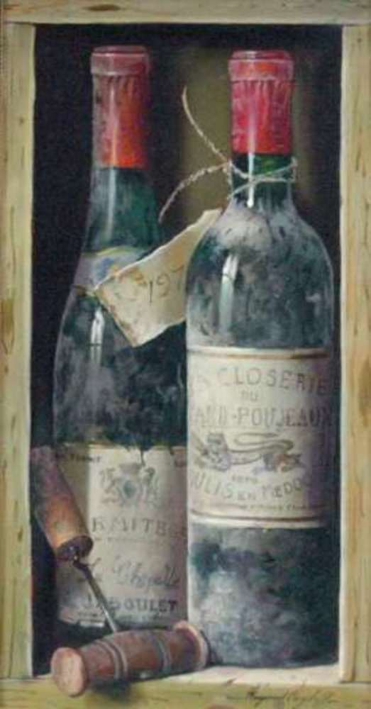 Raymond Campbell - Hermitage 1978 and Grand Poujeaux 1970 border=
