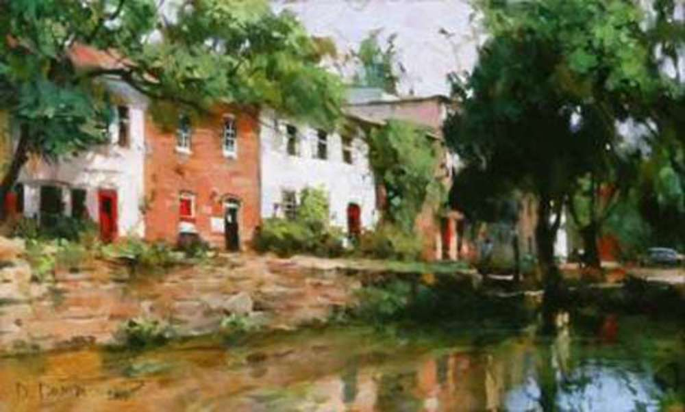 Dmitri Danish - Sunny Day, Georgetown border=