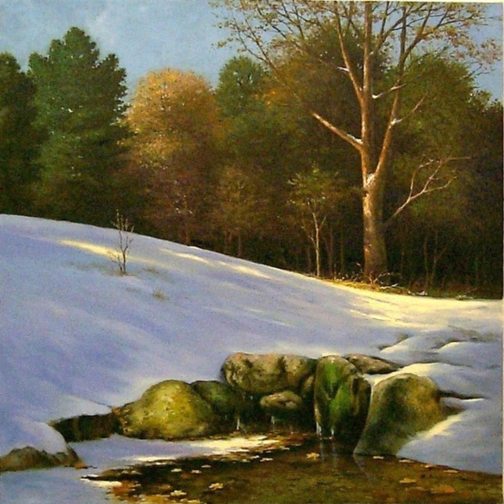 B. Jung - First Snow In The Shenandoah border=