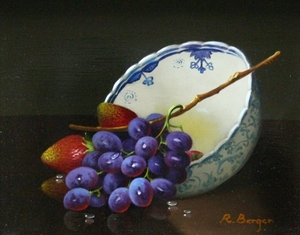 Rath Berger - Grapes with Bowl