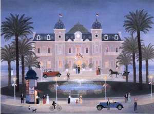 Title: Le Casino De Monte Carlo , Medium: lithograph
