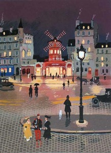 Title: Moulin Rouge (grand monuments) , Medium: serigraph on paper