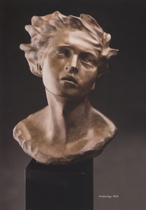 Title: Awakening -male , Medium: bronze sculpture