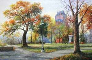 Title: Coming Of Fall , Size: 24x36 , Medium: oil painting on canvas