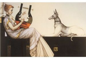 Title: Anubis , Medium: lithograph