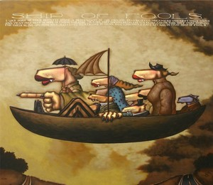 Title: Ship of Fools , Medium: serigraph on canvas