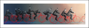 Title: Road To Paradise , Size: 10x40 , Medium: giclee